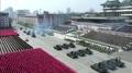 朝鲜举行太阳节阅兵