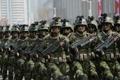 朝鲜特殊作战军首现阅兵式