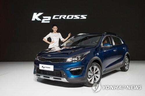 K2クロス(起亜自動車提供)=(聯合ニュース)