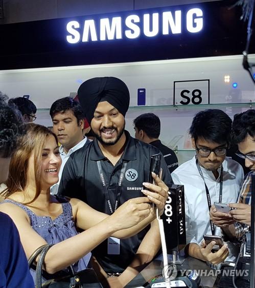Galaxy S8登陆印度