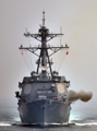 韓米海軍が合同訓練