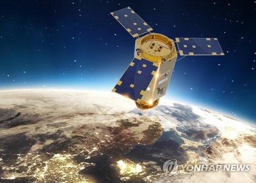 多目的実用衛星7号のイメージ図(KAI提供)=(聯合ニュース)