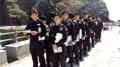 独岛警备队员排队投票