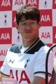 Son Heung-min smiles