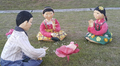 'Hanji' paper dolls