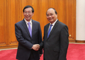 Moon's envoy with Vietnam premier