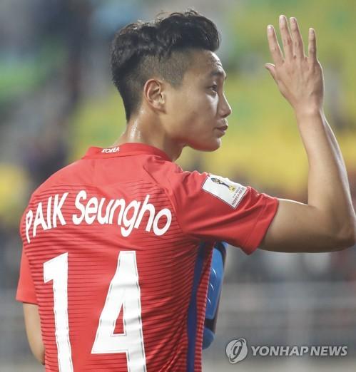 U-20 대표팀 주축으로 활약했던 백승호 [연합뉴스 자료 사진]