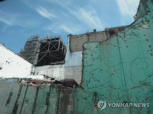 사고 상흔 보이는 후쿠시마 원전