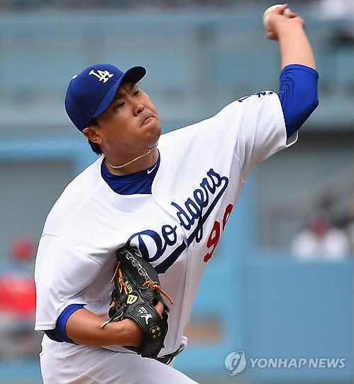류현진, 홈런 3방에 4실점…조기 강판