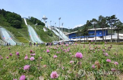 스키점프 꿈나무의 활강…19일 평창 전국대회 개최