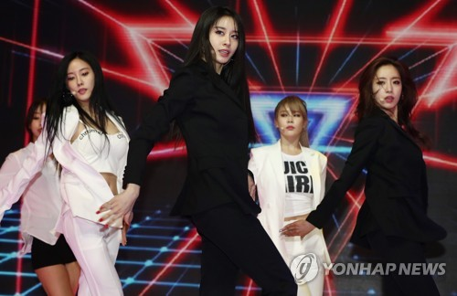 Reorganized girl group T-ara