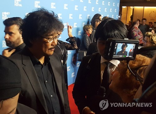 Director Bong Joon-ho in Australia