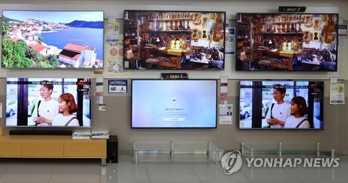 Big screen TVs booming globally