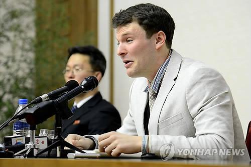 """웜비어 '코마 송환' 엿새만에 사망…가족 """"北 학대 때문"""""""