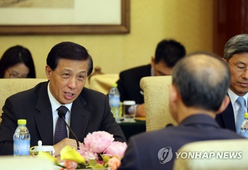 한·중 차관급 전략대화 참석한 장예쑤이 부부장