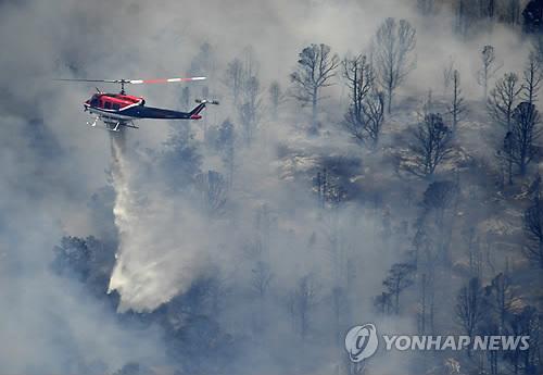 美서부 빅베어에 대형 산불…주민 대피령