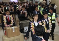 朝鲜跆拳道示范团抵韩