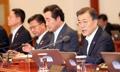 文대통령 첫 국무회의…세월호 기간제교사 순직 법령 의결