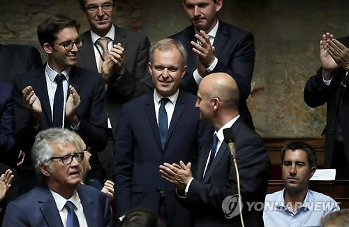 프랑스 하원의장 프랑수아 드 뤼지(43) 의원