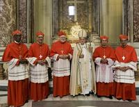 교황, 신임 추기경 5명 서임…말리·라오스 등 4개국 첫 추기경 배출