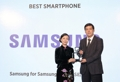 Samsung's Galaxy S8 chosen as best smartphone at WMC