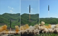 朝洲际弹道导弹试射场面曝光