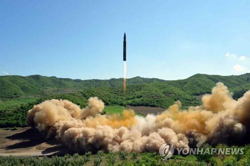 """북한,  """"대륙간탄도미사일 재진입ㆍ단분리 기술 최종 확증 """"주장"""