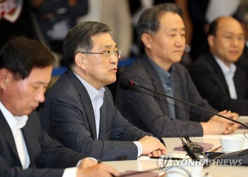 발언하는 권오현 부회장