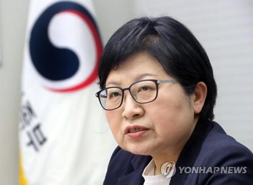 정현백 여가부 장관 [연합뉴스 자료사진]