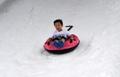 夏日滑雪橇感受清凉