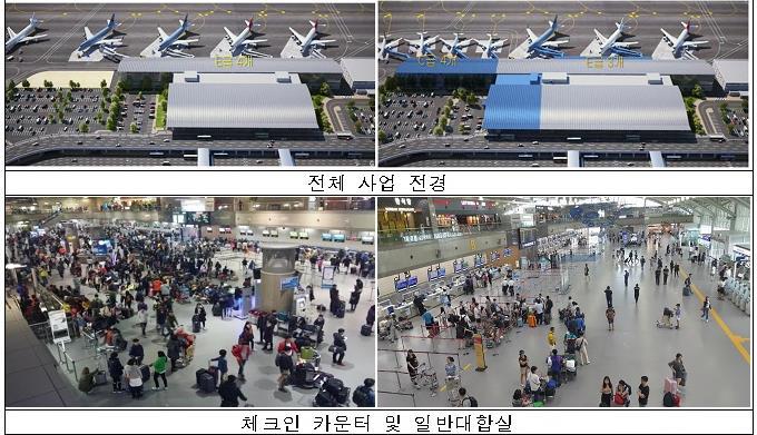 김해공항 국제선터미널 증축 [연합뉴스 자료사진]
