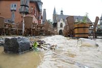 독일, 폭우로 시내 곳곳 물난리…1천 명 대피