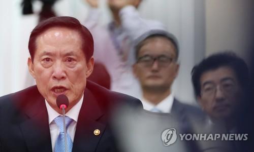 송영무 장관