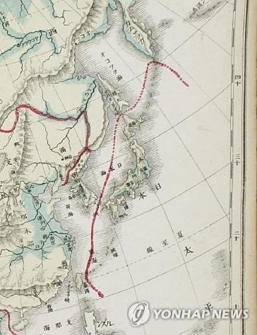 日本の独島領有権主張覆す地図 1...