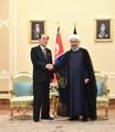 朝金永南会晤伊朗总统