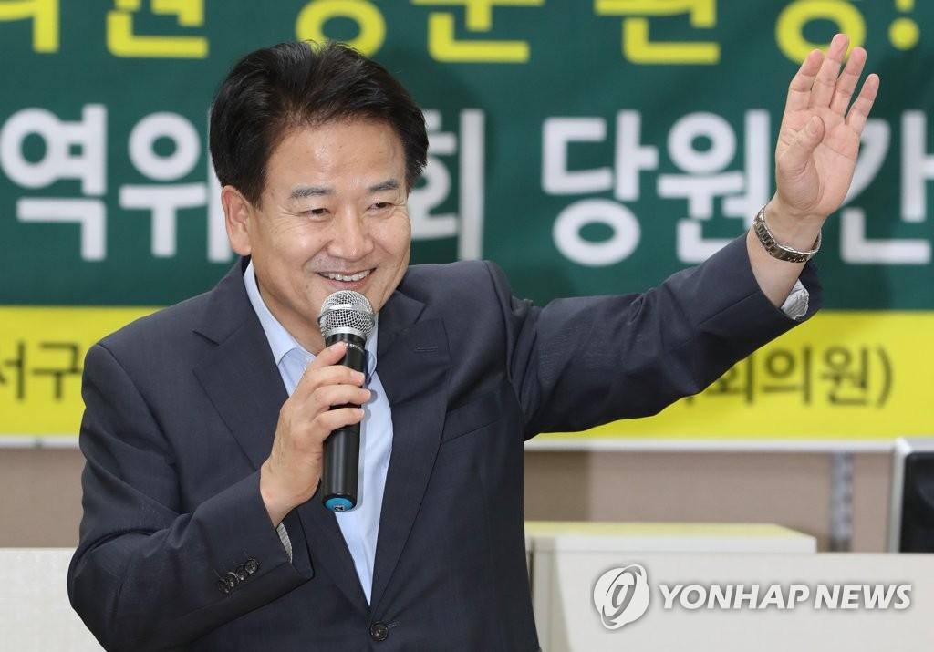 정동영 광주서 지지 호소