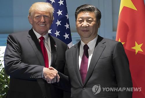 도널드 트럼프 미국 대통령과 시진핑 중국 국가주석 [AP=연합뉴스]