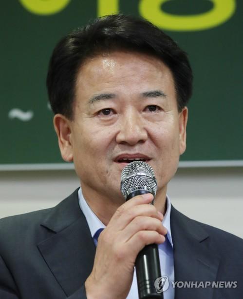 기조연설하는 정동영 후보