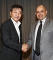 科威特驻韩大使访问韩联社