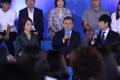 文大統領 「国民向け報告大会」に出席