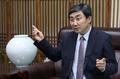 韩中文化协会长接受采访