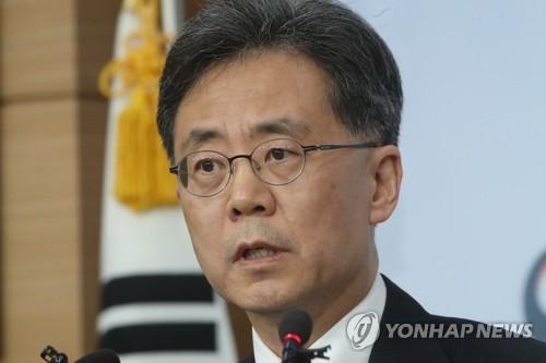 한미 FTA 결과 브리핑하는 김현종 통상교섭본부장