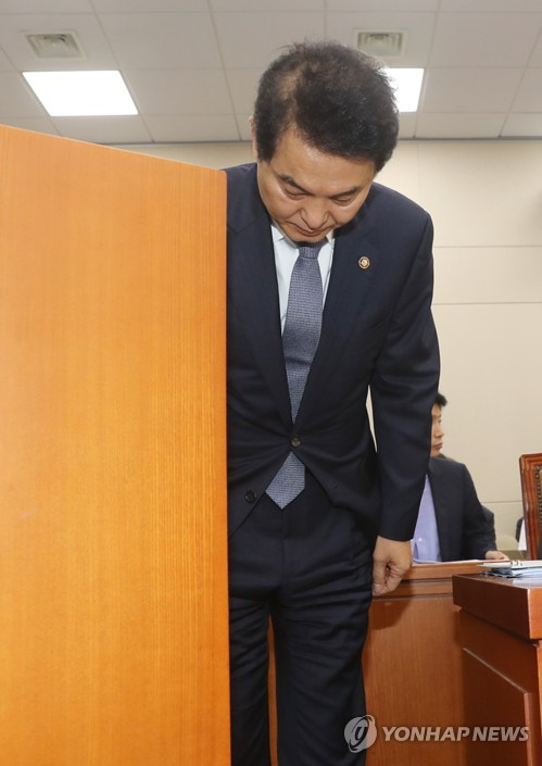 류영진 '총리가 짜증' 발언 사과 후 또 말실수 지적받아