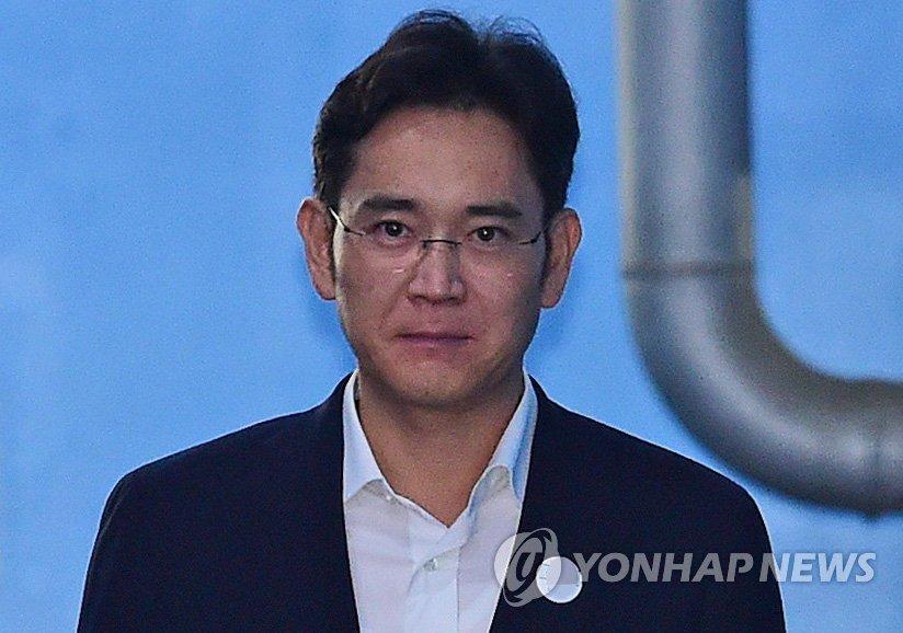 '징역 5년 이재용', 참담한 표정