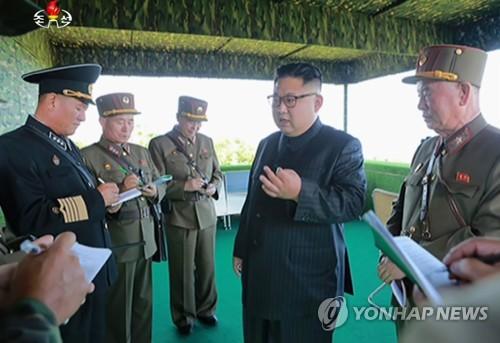 북한 김정은, 작년 선군절에 백령도 등 점령 가상훈련 참관