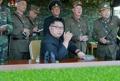 金正恩视察对韩夺岛演习