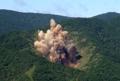 韩空军实施实弹轰炸演习