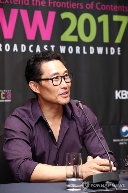 Daniel Dae Kim at BCWW in Seoul