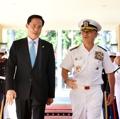 韩防长访问美太平洋司令部