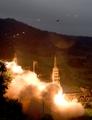 韩军射弹演习应对朝核试